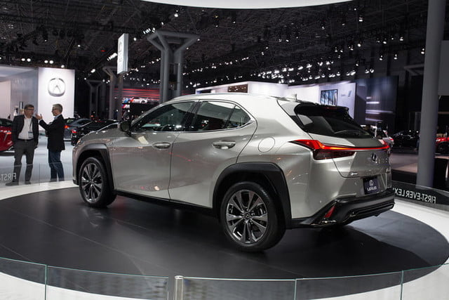 Lexus Ux Crossover At New York Auto Show 2018 2019