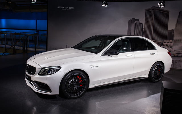 mercedes amg subtly updates c 63 lineup for new york 2018  2019 class 1