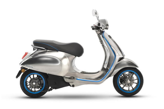 Vespa Elettrica: Piaggio's First All-electric Scooter Is About to ...
