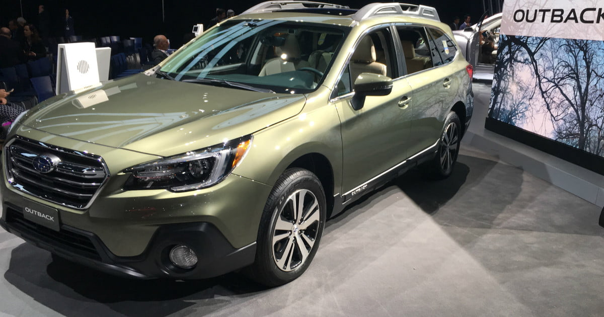 2018 subaru outback photos details specs digital trends. Black Bedroom Furniture Sets. Home Design Ideas