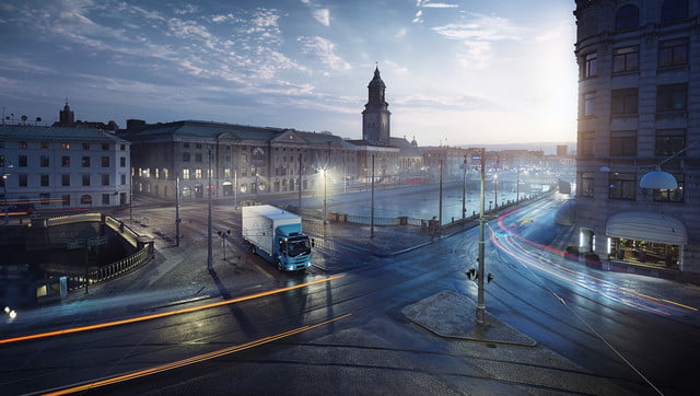 volvos introduces first ever all electric truck 2018  volvo trucks new fl