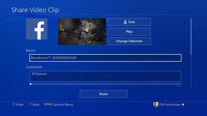 share video how to record a gameplay video on ps4