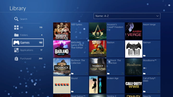 fab361f946811e How to Organize Your PS4 Game Library Using Folders