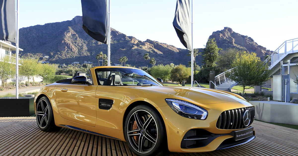 2018 Mercedes-AMG GT C Roadster First Drive | Digital Trends
