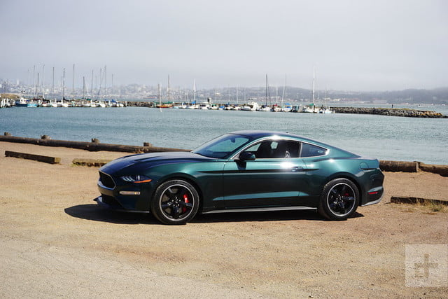 2019 ford mustang bullitt first drive review digital trends. Black Bedroom Furniture Sets. Home Design Ideas