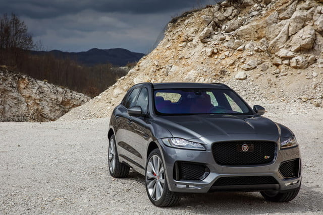 2019 Jaguar F-Pace Gets More Driving Aids and New ...