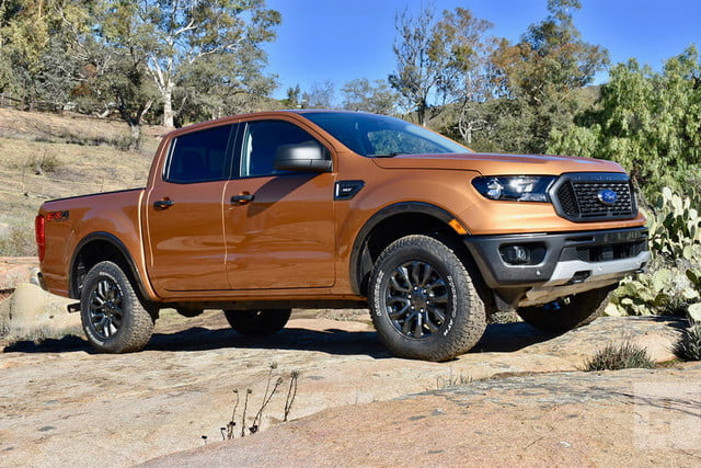 2019 Ford Ranger First Drive Review Digital Trends