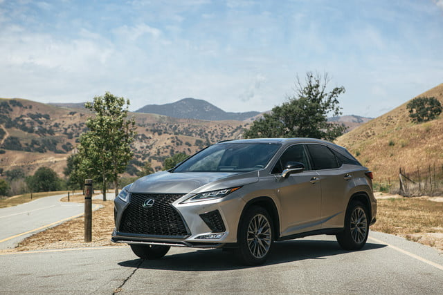 2020 lexus rx gets touchscreen smartphone connectivity official 3