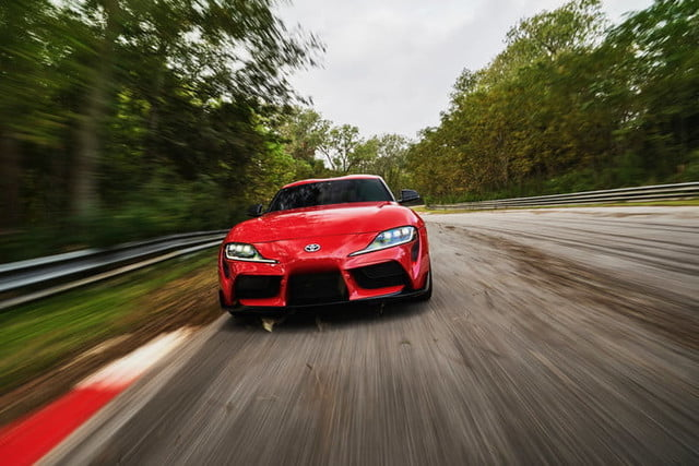 2020 Toyota Supra Sports Car Revealed At 2019 Detroit Auto