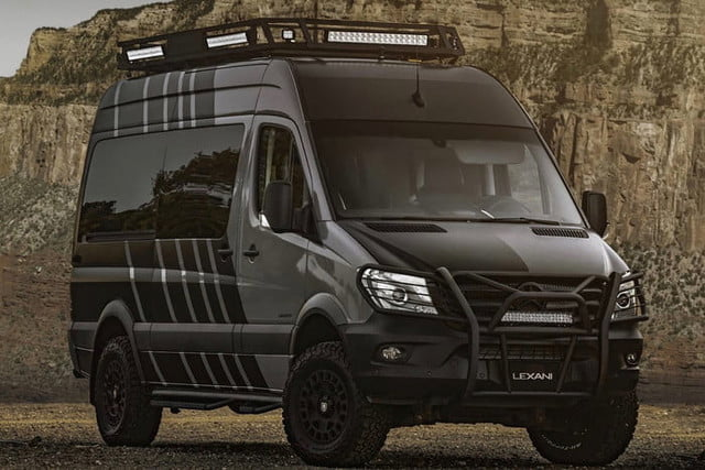 lexani lm extv camper van designed for 39 extreme terrain. Black Bedroom Furniture Sets. Home Design Ideas