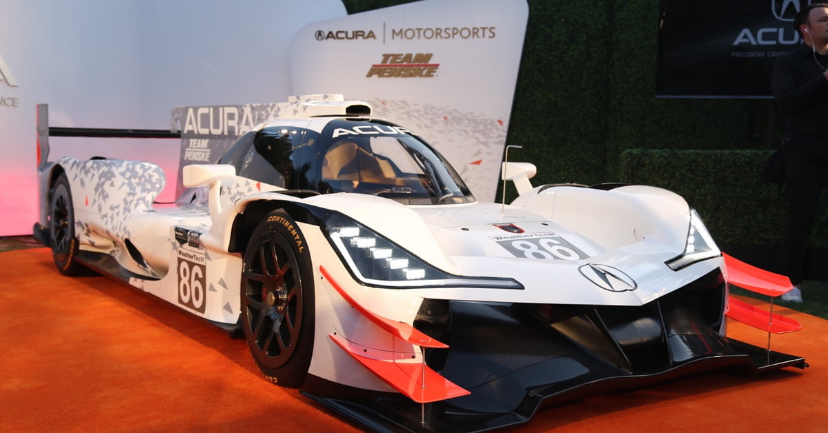 Acura Arx  Prototype Race Car Teaser