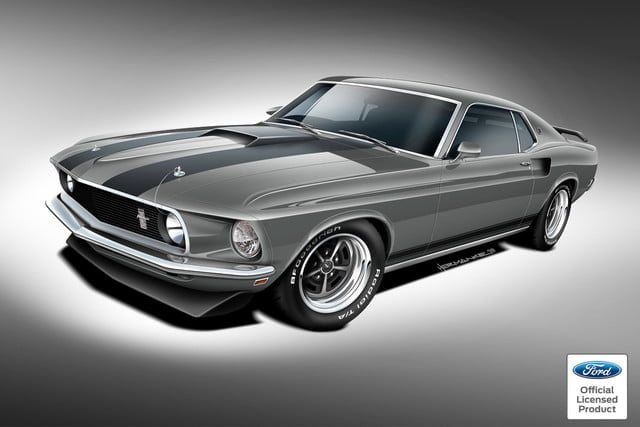 Classic Recreations 1969 Ford Mustang Mach 1