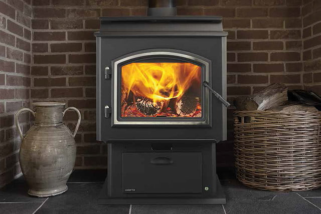 quadra fire introduces a thermostat controlled wood stove adventure series 005