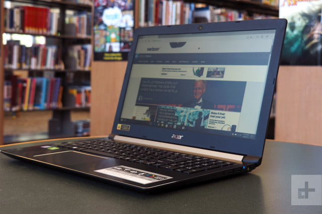 Acer Aspire 5 review angle