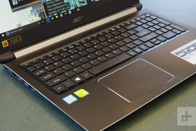 Acer Aspire 5 review keyboard 2