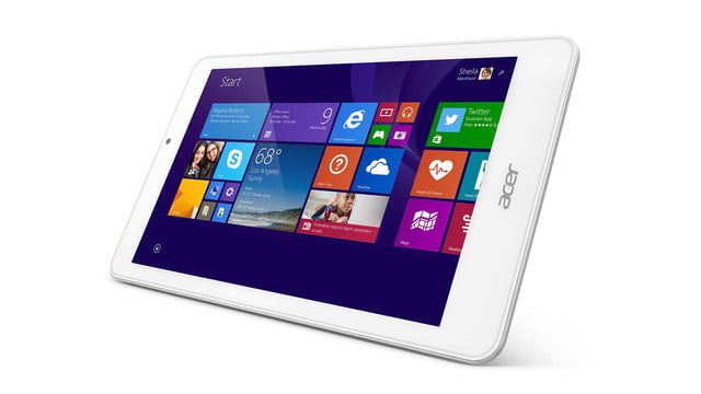embargo 93 620am et acer goes tablet crazy ifa 2014 iconia tab 8 w 10 one horizontal left face press image