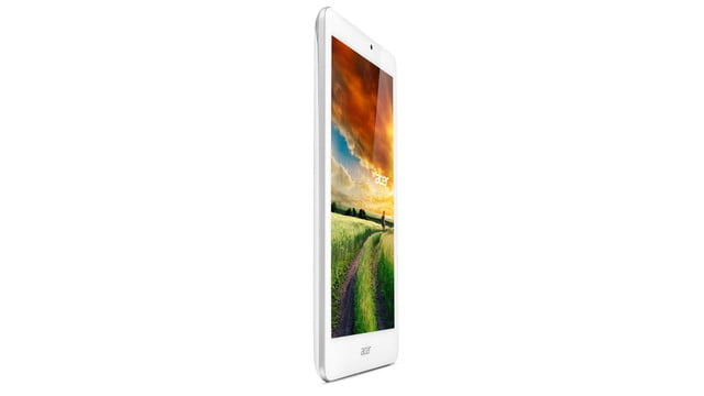 embargo 93 620am et acer goes tablet crazy ifa 2014 iconia tab 8 w 10 one upright right facing 2 press image