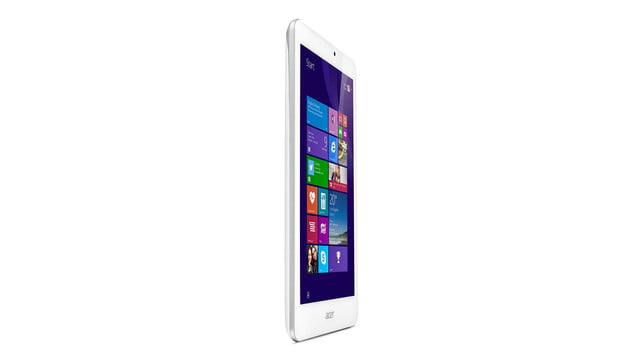 embargo 93 620am et acer goes tablet crazy ifa 2014 iconia tab 8 w 10 one upright right facing press image
