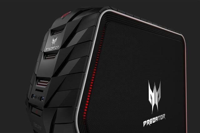 acer gives gamers the gear they need for glory with new predator hardware g6 close up left facing