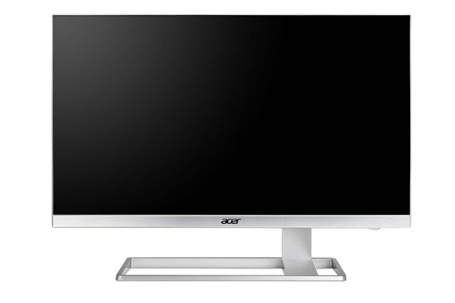 acer details 4k monitor with virtually no bezels hdmi 2 0 s27hk front black press image