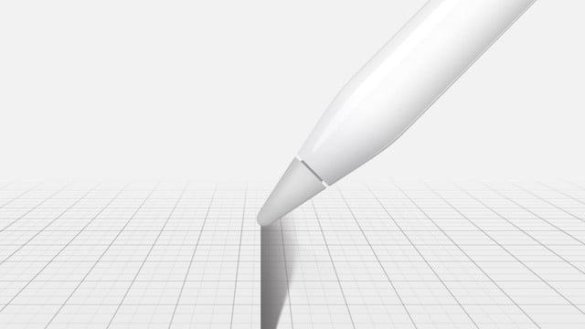 apple ipad pro pencil for artists add shading with a tilt of the hand