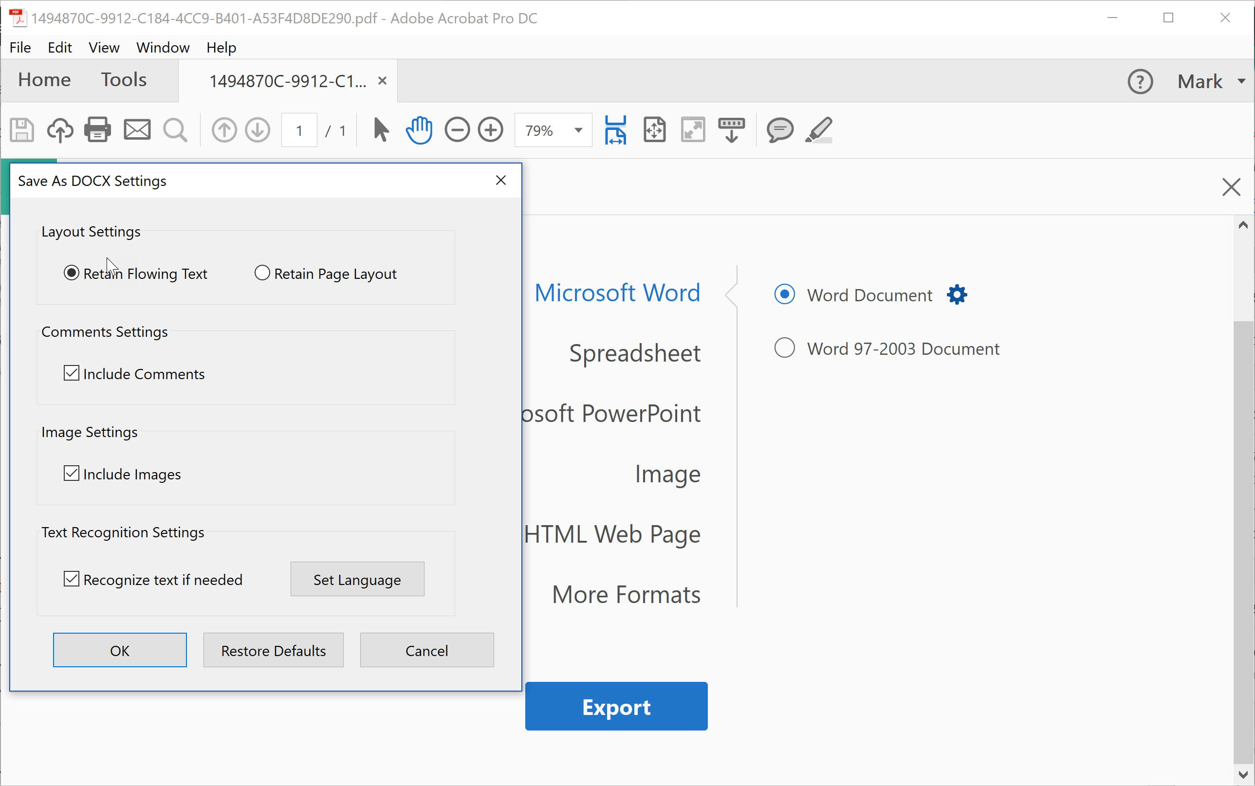 Technology Management Image: How To Convert A PDF To Word