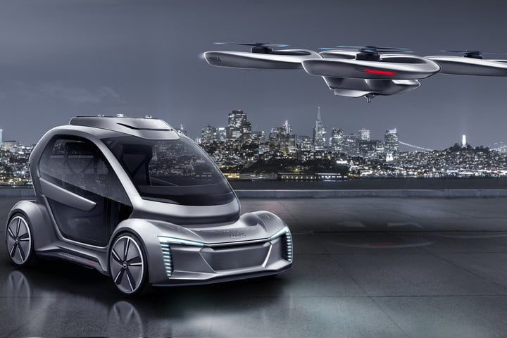 Audi And Airbus Come Together To Show Off The Future Of Transportation - Audi audi