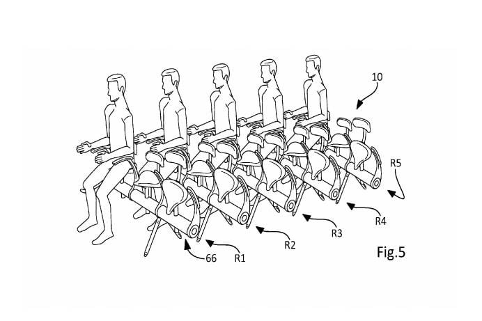 Airbus looking to develop 'bicycle saddle' airline seat