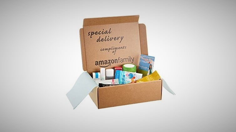 buy an amazon sample box and receive equal credit