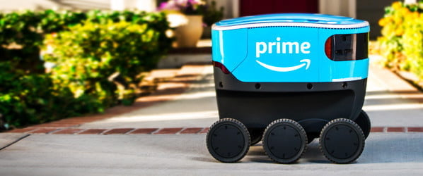 Amazon is building a fleet of autonomous robots to deliver packages to your door