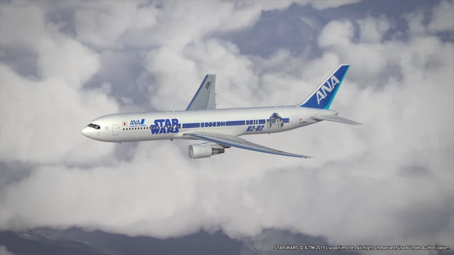 anas r2 d2 jet will be the closest to flying in a star wars spacecraft ana 767 2