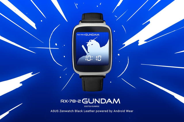 android wear 17 new watch faces androidwear gundam 1000x666 1