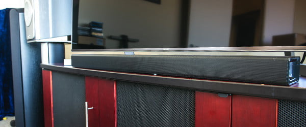 It's only $100, but this soundbar loses its balance to bring the bass