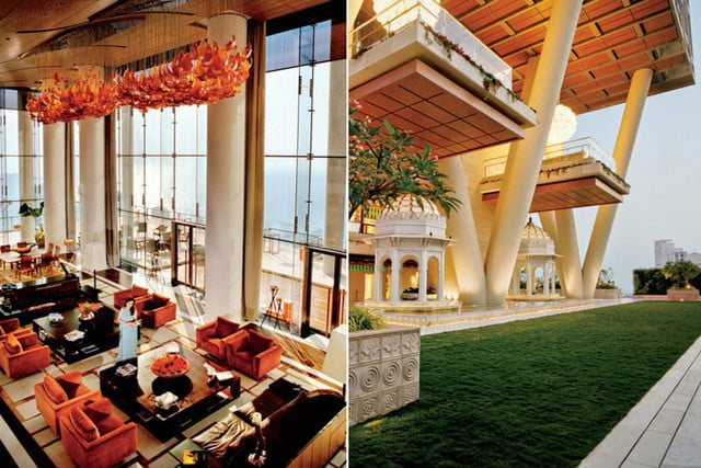 The Biggest Houses In The World Antilia The Biltmore Estate And