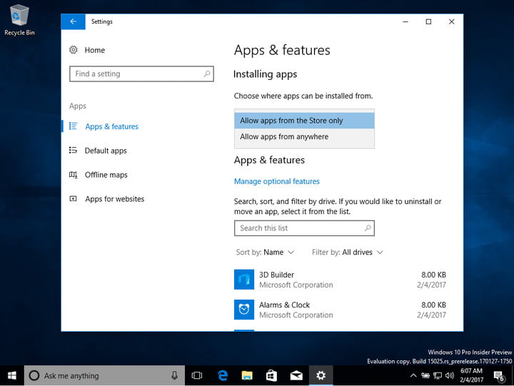 Announcing Windows 10 Insider Preview Build 15063 for PC and