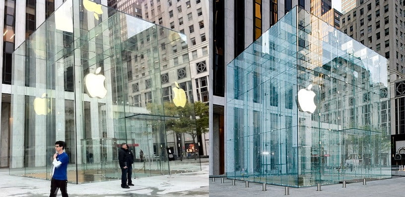 Apple Unveils Rebuilt Fifth Avenue Glass Cube Store