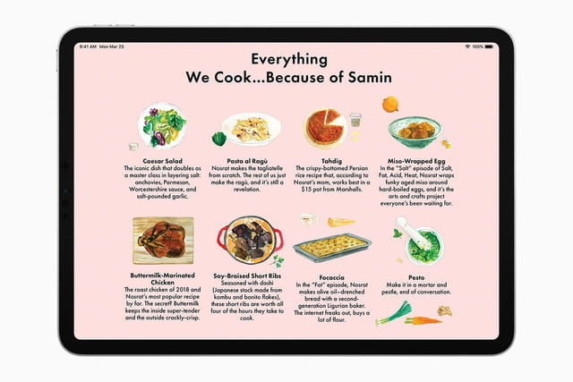 apple news plus bon appetit ipad screen 03252019