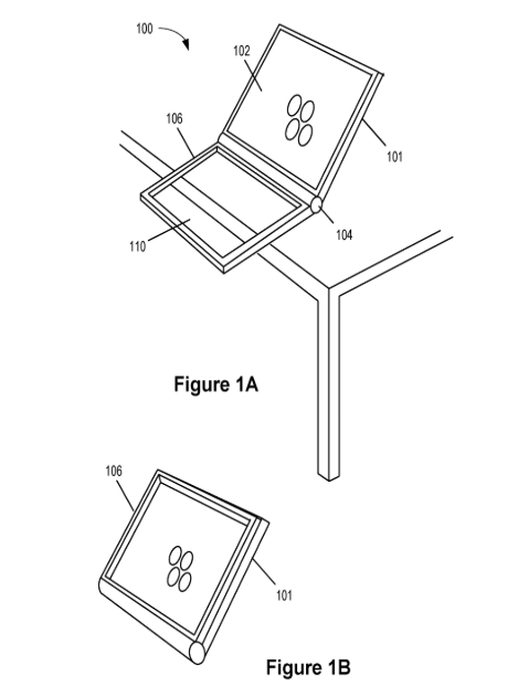 Apple granted patent proposing dual-sided trackpad for