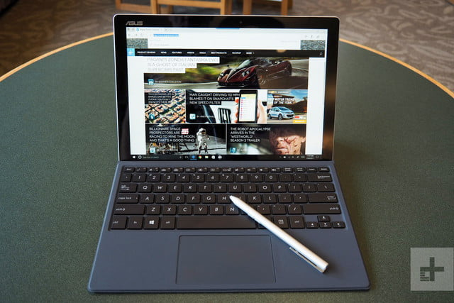 Asus Transformer T304 review front