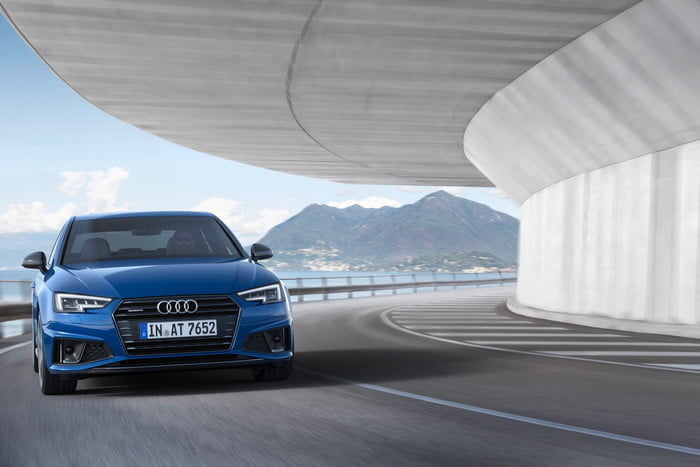 2019 Audi A4 (European-market version)