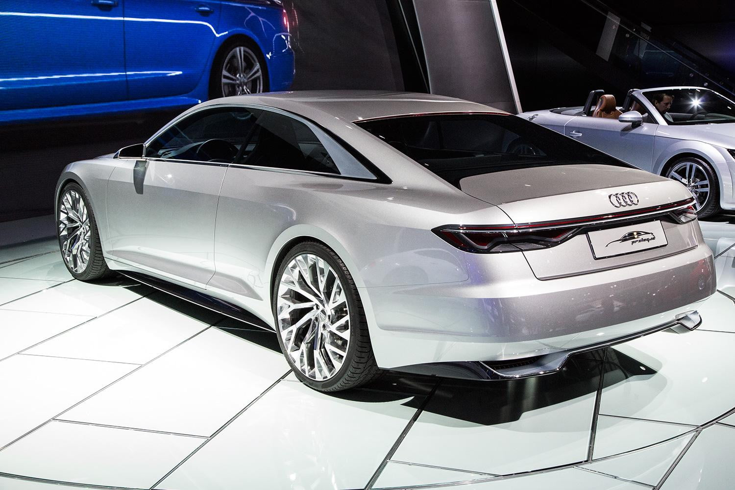 audi piloted driving prologue concept ces 2015 digital trends. Black Bedroom Furniture Sets. Home Design Ideas