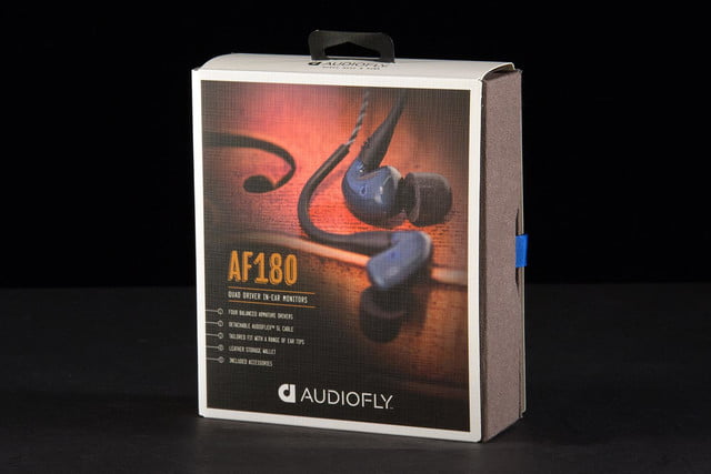 Audiofly AF-180 earbuds review box