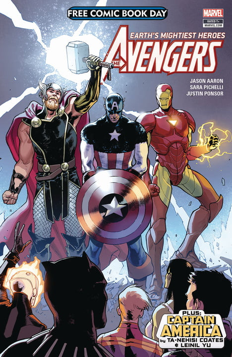 free comic book day 2018 comics avengers captain america fcbd