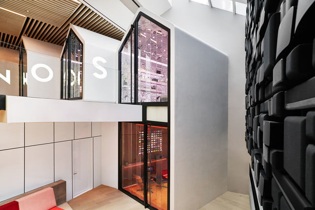 sonos retail store nyc sound back of  downstairs lounge listening rooms 6 and 7