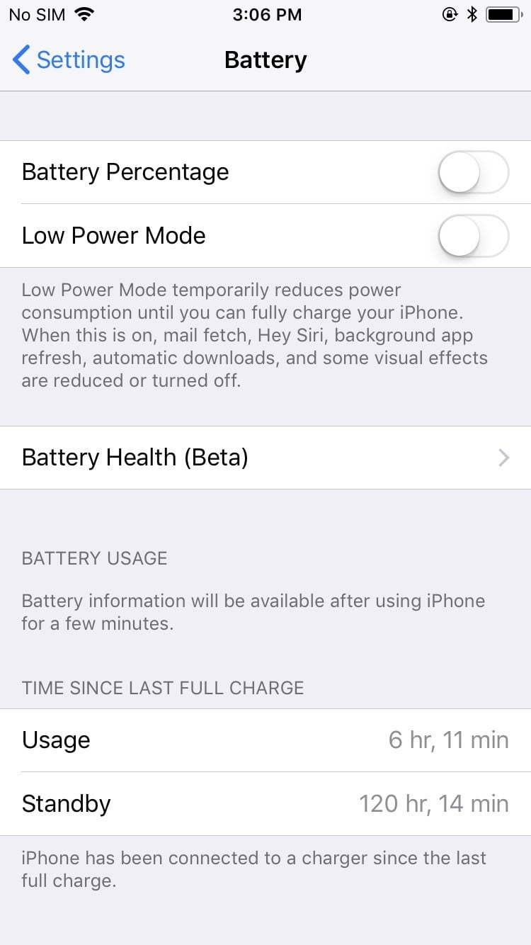Ios 11 Tips And Tricks To Master Apples New Operating System Then Make A Prediction Of What Happens When The Switch Is Opened Apple 3 Battery Health