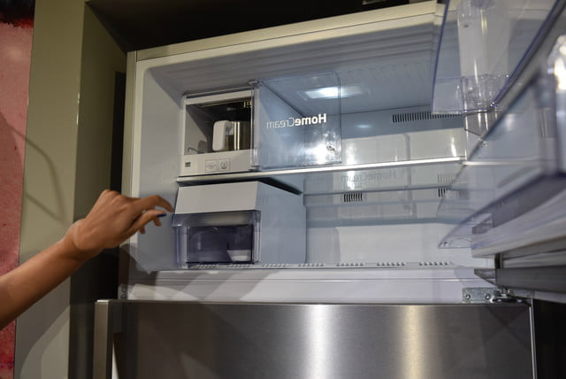 bekos homecream fridge has a built in ice cream maker beko 4