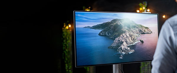 Apple's only monitor is $5,000. BenQ has a great alternative for thousands less