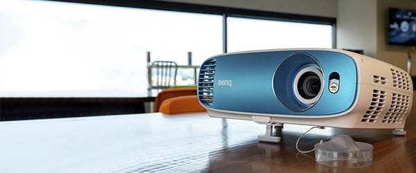 No blackout shades? No problem! BenQ's TK800 projector battles bright light