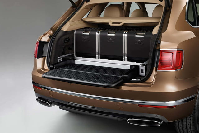 bentley says its bentayga suv can do it all but will customers bite  event seat and hampers
