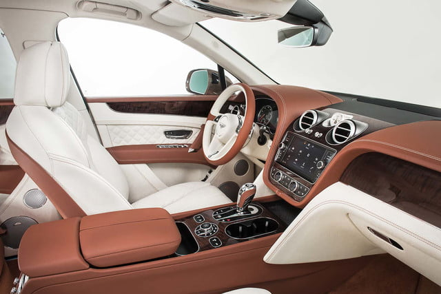 bentley says its bentayga suv can do it all but will customers bite  front cabin 4